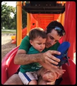 tom mateo on slide