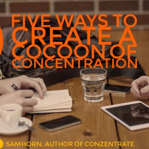 concentrate cocoon text image