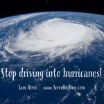 Lesson #3 From My Year by the Water: Stop Driving Into Hurricanes!