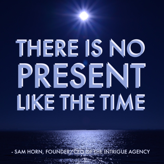 there is no present llike the time - blue best