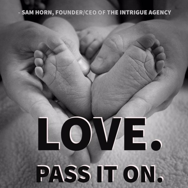 love. pass it on.