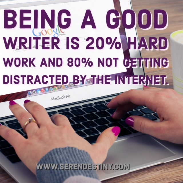 being a good writer