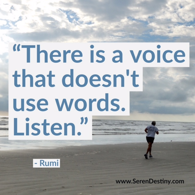 there is a voice - rumi