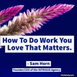 How to Do Work You Love That Matters